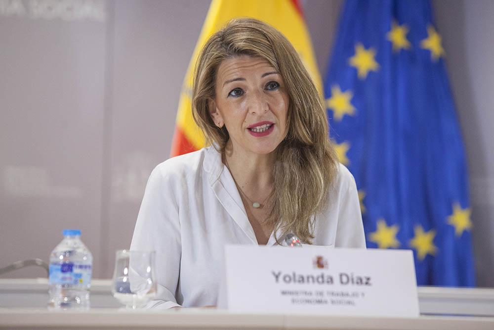 Díaz mantiene un encuentro con su homóloga francesa para fomentar el trabajo conjunto en relación con el Pilar Europeo de Derech...