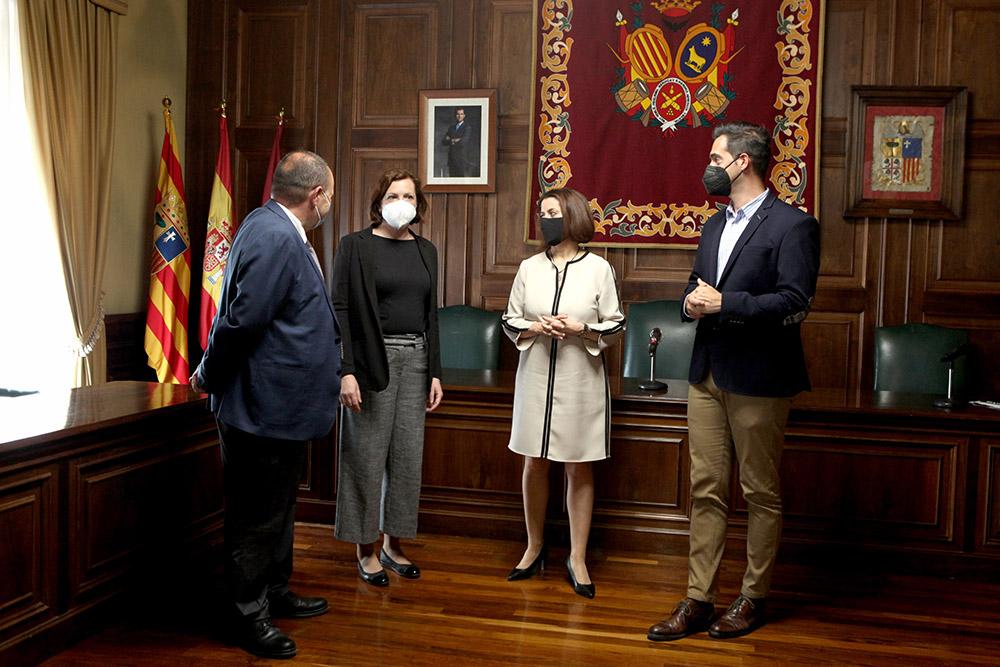 Trabajo apuesta por Tejer cohesión social desde el Territorio desde Teruel, primera Capital Española de la Economía Social